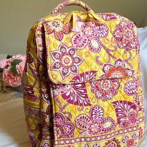 Vera Bradley Retired Bali Gold Backpack
